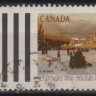 CANADA 1989 - Scott 1259 used - 33c, Christmas , lanscape  (11-152)