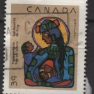CANADA 1990 - Scott 1294 used -  39c, Christmas Virgin & Child  (11-155)
