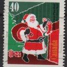 CANADA 1991 - Scott 1339 used - 40c, Christmas, Santa Claus   (11-159)