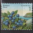 CANADA 1991 - Scott 1349 used - 1c, Blueberry  (11-161)