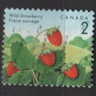 CANADA 1991 - Scott 1350 used - 2c, Wild Strawberry (11-162)