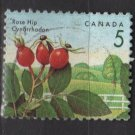 CANADA 1991 - Scott 1352 used - 5c, Rose hip  (11-163)