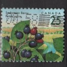 CANADA 1991 - Scott 1355 used - 25c, Saskatoon Berry   (11-165)