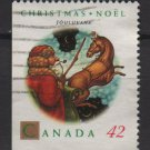 Canada 1992 - Scott 1452 used - 42c, Jouluvana, Christmas   (11-173)