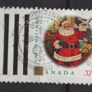 CANADA 1992 - Scott 1455 used - 37c,  Christmas, Santa Claus  (11-174)