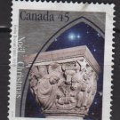 Canada 1995 - Scott 1585 used - 45c, Christmas, Capital Sculptures  (10-184)