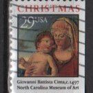 USA 1993 - Scott 2790 used - 29c, Christmas, Madonna & Child (T-216)