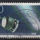 Germany 1986 - Scott 1456 used - 80 pf, Halley's Comet (12-399)