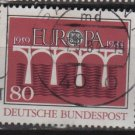 Germany 1984 - Scott 1416 used - 80 pf, Europa issue, common design (12-402)