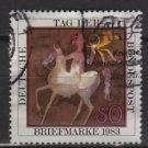 Germany 1983 - Scott 1405 used - 80 pf, Stamp day (12-406)