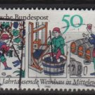 Germany 1980 - Scott 1338 used - 50 pf, Wine production in Central Europa (12-407)