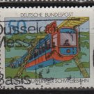 Germany 1976 - Scott 1210 used - 50 pf, Wuppertal suspension train (12-412)