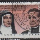 Germany 1988 - Scott 1547 used - 80pf, Beatification of Edith Stein & Rupert Mayer (12-420)