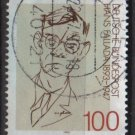 Germany  1993 -   Scott 1792   used -  100 pf, Hans Fallada (12-452)