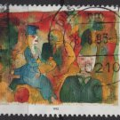 Germany 1993 - Scott 1778 used - 100pf, Painting by George Grosz (12-453)