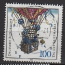 Germany 1992 - Scott 1763 used - 100pf, Stamp day, Balloon Post  (12-424)