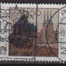 Germany 1992 - Scott 1743 used - 60pf, Erfurt, Thuringia  (12-454)