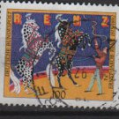 GERMANY 1992 - Scott 1740 used - 100pf, Ernst Jakob Renz, Circus (12-456)