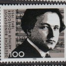 GERMANY 1992 - Scott 1736 MNH - 100pf, Arthur Honegger  (12-457)