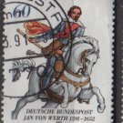 Germany 1991 - Scott 1629 used - 60 pf, Jan von Werth    (12-469)