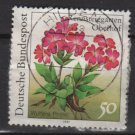 Germany 1991 - Scott 1631 used - 50 pf, Primula, Flowers (12-472)