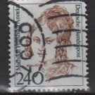 Germany 1986 - Scott 1492 used - 240pf, Famous Women, Mathilde Franzisca Anneke(11-486)