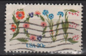 USA 1982 - Scott 1951 used - 20c, LOVE (12-489)