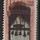 US 1969 -Scott #1373 used - 6c, California Settlement 200th Anniv., Carmel Mission  (12-500)