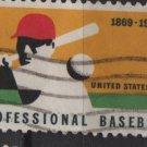 USA 1969 - Scott 1381 used - 6c, Professional Baseball issue  (12-502)