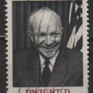 USA 1969 - Scott 1383 used - 6c, Dwight D Eisenhower, 34th President   (12-503)