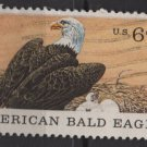 USA 1970 - Scott 1387 used - 6c, Natural History, American Bald Eagle  (12-505)