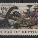 USA 1970 - Scott 1390 used - 6c, National History issue, Jurassic Period    (12-507)