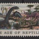 USA 1970 - Scott 1390 used - 6c, National History issue, Jurassic Period    (12-507)