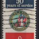 UUSA 1970 - Scott 1421 used - 6c, Disabled American Veterans emblem  (12-513)
