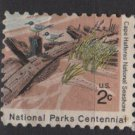 USA 1972 - Scott 1451 used - 2c, National Parks Centennial, Dunes  (12-519)