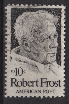 USA 1974 - Scott  1526  used - 10c, Robert Frost issue,  American Poet   (12-520)