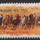 USA 1974 - Scott 1528 used - 10c, Horse Racing issue (12-528)