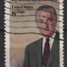 USA 1973 - Scott 1503 used - 8c,  Lyndon B Johnson (12-531)