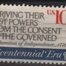 USA 1974 - Scott 1545 used - 10c, American Bicentennial, 1st continental Congress(12-539)