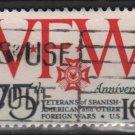 US 1974 - Scott 1525  used  - 10c, WFM Issue, VFW (12-541)