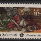 USA 1975 - Scott 1561 used - 10c, American Bicent. Haym Salomon (12-544)