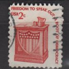 USA 1975 - Scott 1582 used - 2c, Americana issue, Speaker's stand  (12-546)