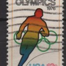 USA 1976 - Scott 1697 used - 13c,  Olympic Games, Running  (o-215)