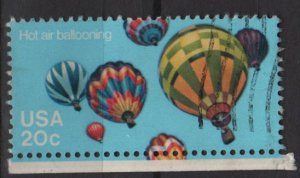 USA 1983 - Scott 2035 used - 20c,  Hot air Balloons   (i-565)