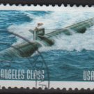 United States 2000 - Scott 3374 used - 33c, Submarine, Los Angeles Class   (12-571)