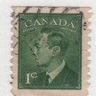 Canada 1960 - Scott 297 used -  1c, George VI   (C -37)