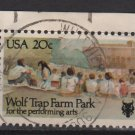 USA 1982 - Scott 2018 used - 20c,  Wolf Trap Farm Park (i-554)