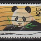 USA 1992 - Scott 2706 used - 29c, Giant Panda (T-186)