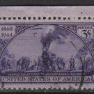 USA 1944 - Scott 922 used - 3c, Transcontinental Railroad (N-373)