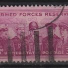 USA Stamp of 1955 - Scott 1067 used - 3c, Armed forces reserve  (B-48)